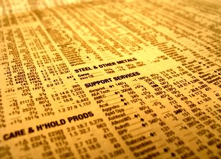 Trading stock research