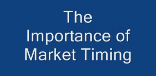 When it comes to trading, market timing is critical, and the most important reason of all is to minimize your risk exposure, whenever there is a significant amount of money at risk